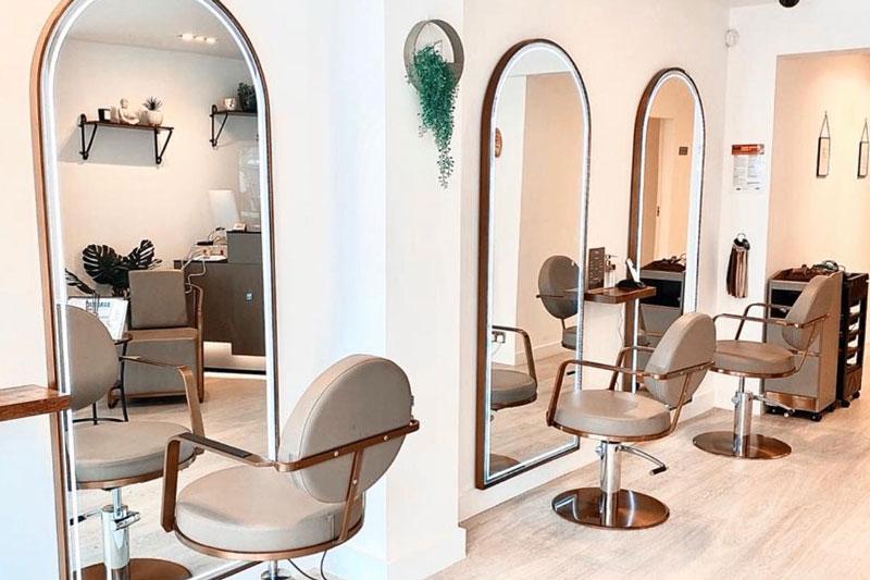 modern hair salon in barnet